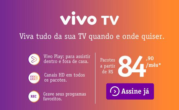 Vivo TV: viva tudo da sua TV quando e onde quiser.